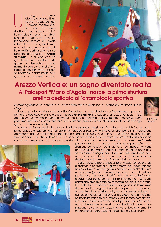 dal Settimanale di Arezzo del 8 novembre 2013